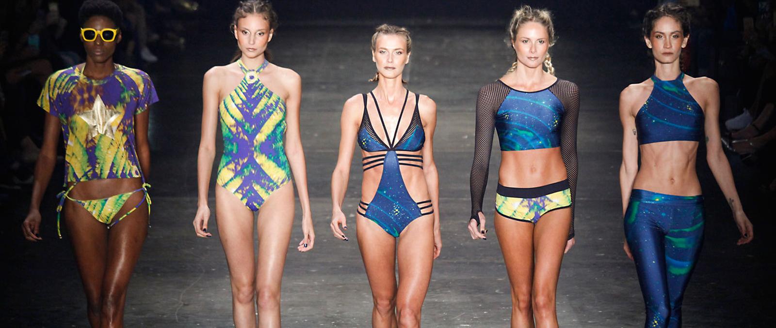 Latest trends in swimwear