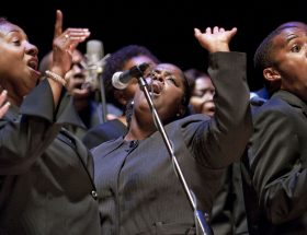 African American choir.