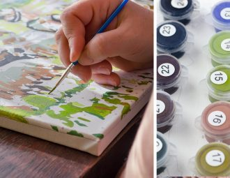 paint by numbers kits Australia