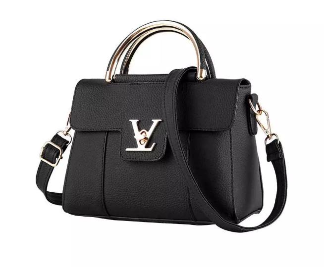 buy black leather bag